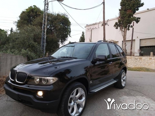 BMW in Beirut City - 2005 bmw X5 black Sport package 3.0i