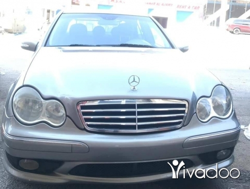 Mercedes-Benz in Beirut City - C230/2007 silver best color