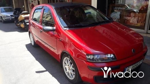 Fiat in Beirut City - Car fiat punto 2004 red color best color