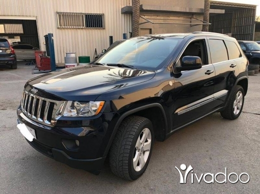 Jeep in Beirut City - Jeep Cherokee Trail rated