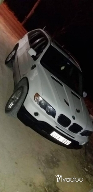 BMW in Beirut City - Bmw x5 2003 white for salee