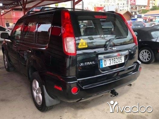 Nissan in Khalde - Nissan X-Trail 4wd Model 2006 كتير النظيف جلد فتحة