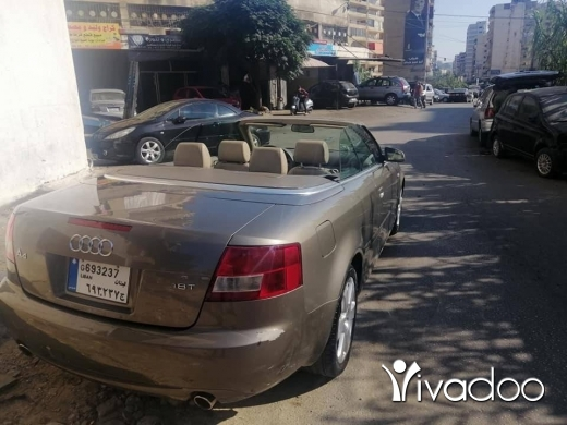 Audi in Beirut City - Audi a4 turbo 4 cylinder 2003