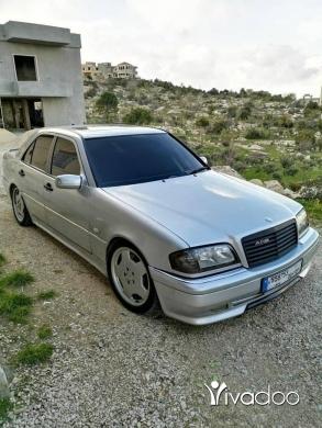 Mercedes-Benz in Port of Beirut - مرسيدس c36 amej موديل ٩٤ سيارة خارقة مافيا حواديث بدي بيع دون تبديل