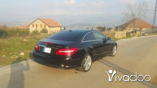 Mercedes-Benz in Beirut City - Mercedes e 550 coupe 2010 fully loaded look amg