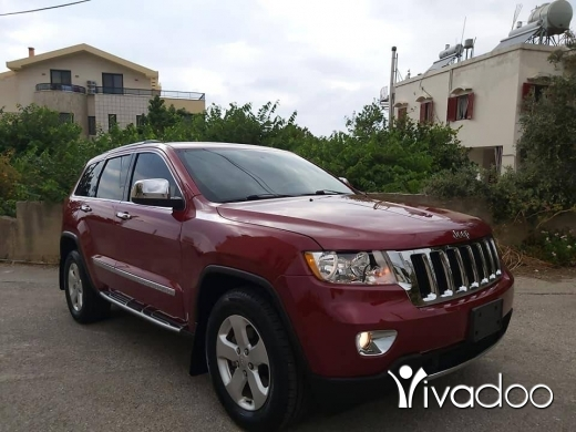 Jeep in Beirut City - 2011 grand cherokee laredo 4x4 ajnabe 3.6