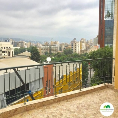 Apartments in Achrafieh - Rooftop for rent Lycee Achrafieh 119 m
