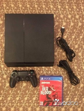 PS4 (Sony Playstation 4) in Tripoli - Ps4 fat 500GB 1 joystic 1 game