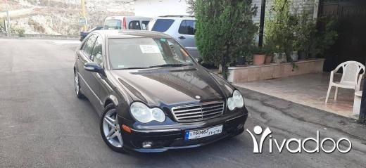 Mercedes-Benz in Beirut City - C230 2005 aswad aswad 3all fa7es