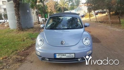 Volkswagen in Beirut City - كولف بيتل 2004