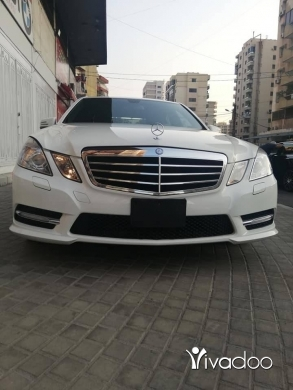 Mercedes-Benz in Beirut City - Mercedes Benz E350 model 2012 white for sale