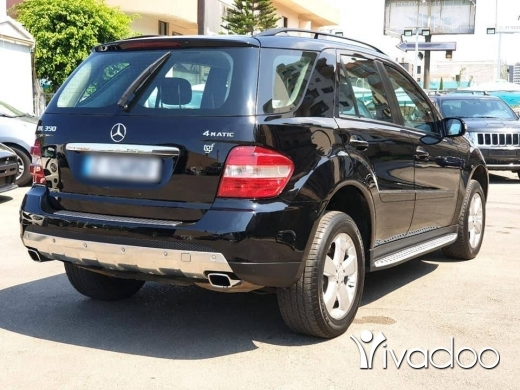 Mercedes-Benz in Beirut City - 2008 ML350 4Matic / company source for sale black