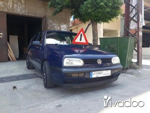 Volkswagen in Beirut City - Golf3