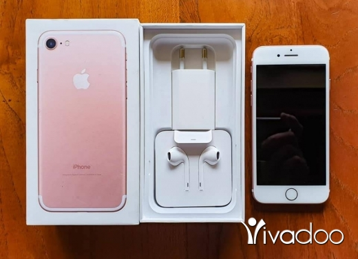 Apple iPhone in Beirut City - Iphone 7 128gega rose gold full accessories for sale 76902533