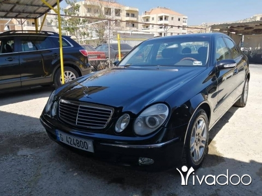 Mercedes-Benz in Beirut City - Mercedes benz e 320 model 2003 siyara ndifi tel 03078048