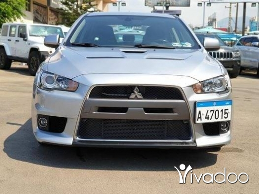 Mitsubishi in Beirut City - Evo X 2009 / Perfect condition / Very low mileage / company source