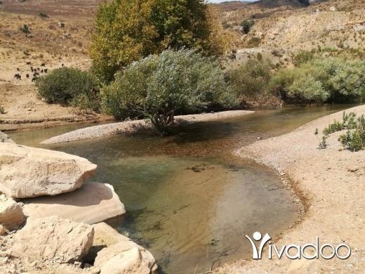 Farm and Estates in Jdeidet Marjeyoun - عقار على النهر واجهة مئة متر مربع  ويوجد فيه نبعة ماء خاصة