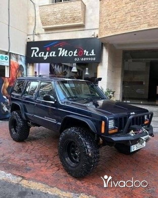 Jeep in Beirut City - Jeep Cherokee
