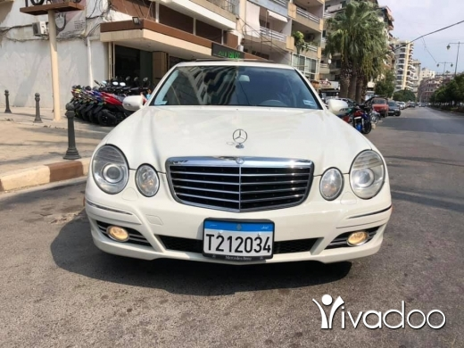 Mercedes-Benz in Tripoli - Mercedes benz E 350