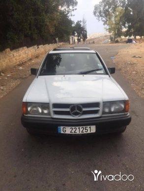 Mercedes-Benz in Beirut City - مرسيدس 190 4 سلندر