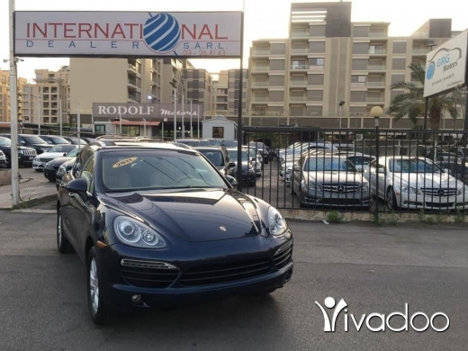 Porsche in Beirut City - Porsche Catenne