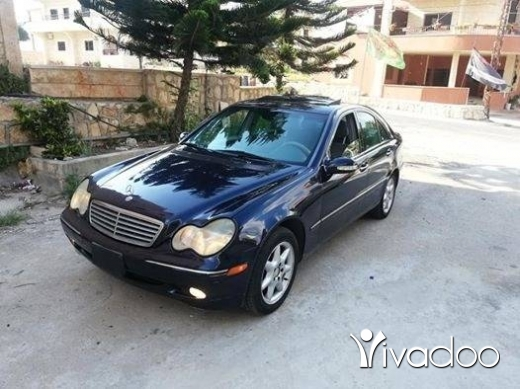 Mercedes-Benz in Nabatyeh - Mercedes C.240 model 2002 enkaz sayara ktir ndife moter vites mikanic ac top contact