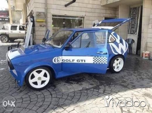 Volkswagen in Baalback - golf
