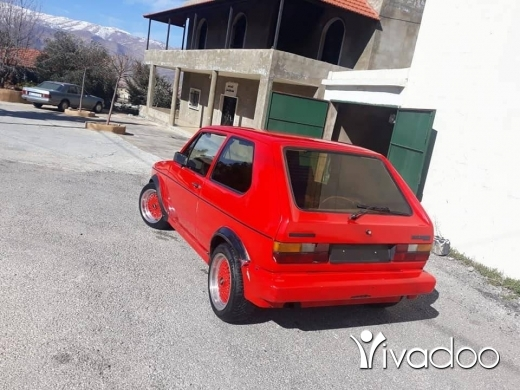 Volkswagen in Baalback - golf 1