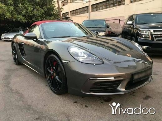 Porsche in Beirut City - Porsche 718 Boxster S 2017