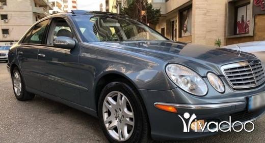Mercedes-Benz in Tripoli - مرسيدس اي ٣٢٠ موديل ٢٠٠٥ كامله الموصفات