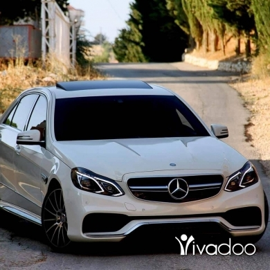Mercedes-Benz in Beirut City - For sale E 550 2010 white