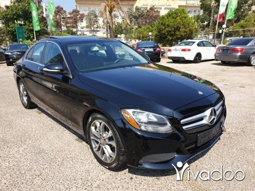 Mercedes-Benz in Port of Beirut - 2015 Mercedes C300