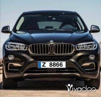 BMW in Beirut City - Special Car Plate for Sale / نمرة مميزة اربع أرقام للبيع