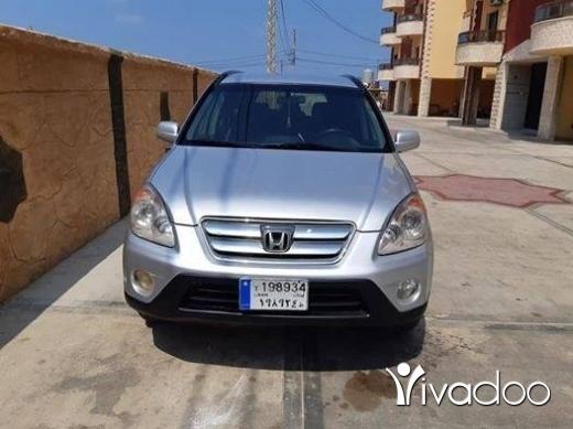 Honda in Tripoli - للبيع جيب هوندا CRV موديل 2004 انقاض