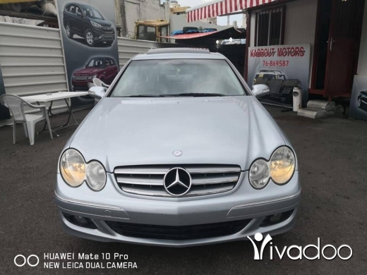 Mercedes-Benz in Beirut City - Mercedes Benz clk 350 model: 2006