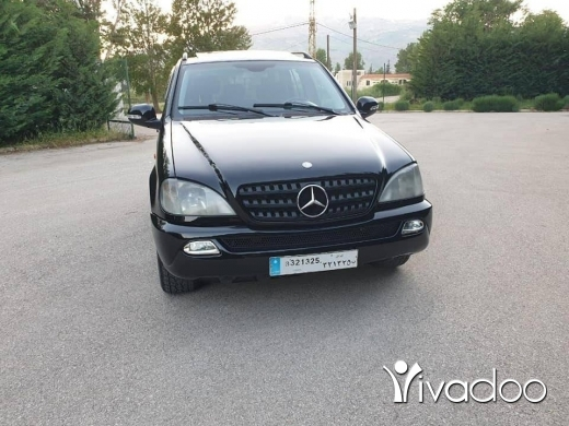 Mercedes-Benz in Zahleh - مرسيدس ام ال ٢٠٠١