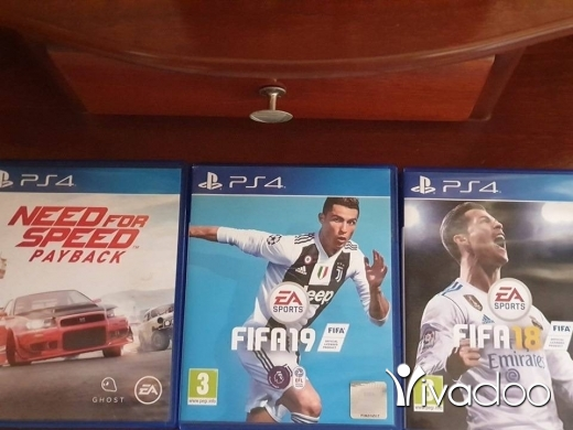 Games in Tripoli - NFS Payback, Fifa 19 and a free Fifa 18