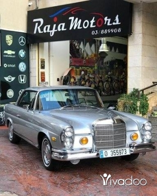 Mercedes-Benz in Beirut City - Mercedes-Benz 280SE Coupe 1969