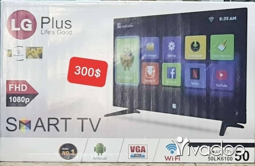 Other TV, DVD & Video in Beirut City - شاشاه 50 انش بس 300$ ومع هدي