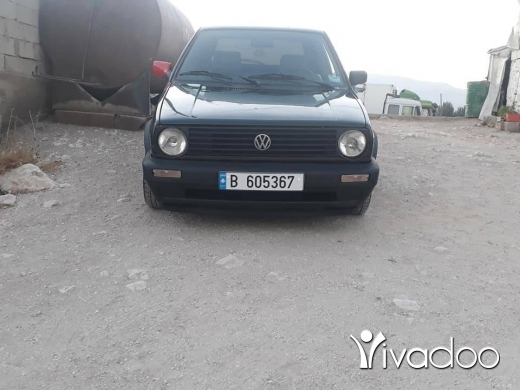 Volkswagen in Ber Elias - كولف 2