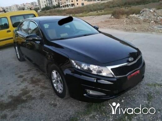 Kia in Beirut City - للبيع كيا optima مع نمره عموميه للإجار