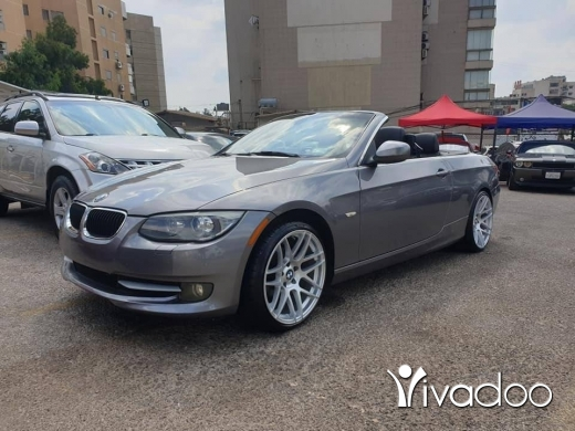 BMW in Beirut City - BMW E93 328 convertible.