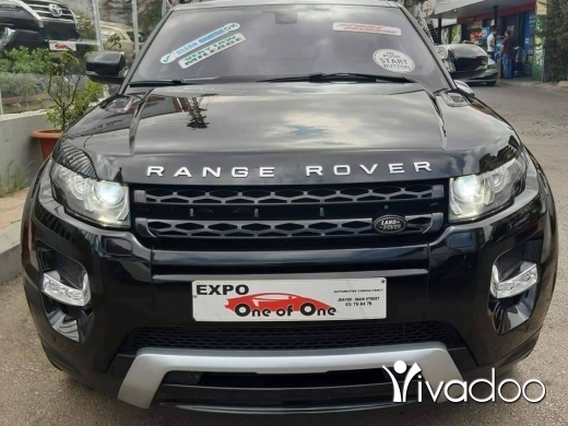 Land Rover in Beirut City - Range Rover evoque dynamic 2013