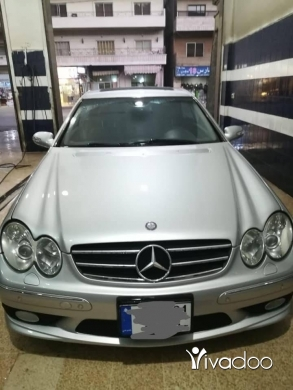 Mercedes-Benz in Beirut City - Mercedes Benz CLK 55 AMG 2004