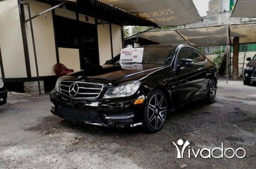 Mercedes-Benz in Beirut City - C250 COUPE 2013 bl/bl 1.8L T 4cyl look AMG navigation