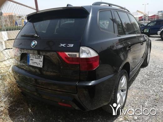 BMW in Zahleh - اكس3 موديل 2007 سيري ام مفول زوايد