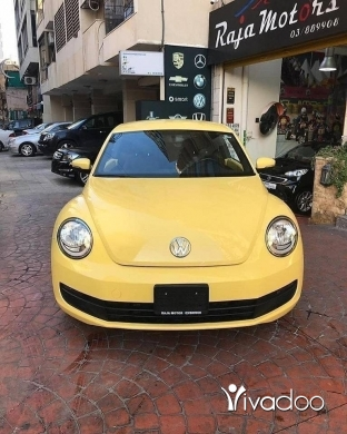 Volkswagen in Beirut City - Volkswagen Beetle 2012