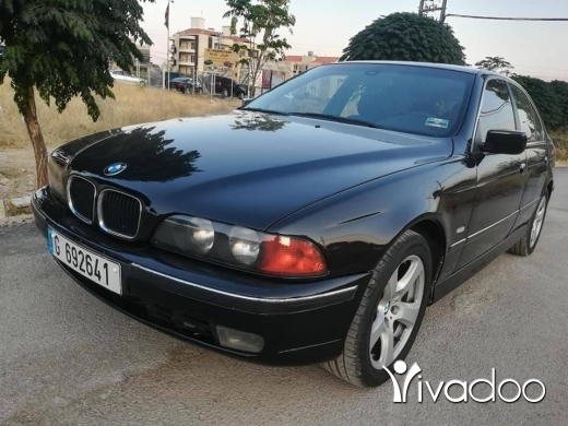BMW in Zahleh - 528 موديل 97 المانية مسكر ميكانيك مجنطةاسود قلب اسود