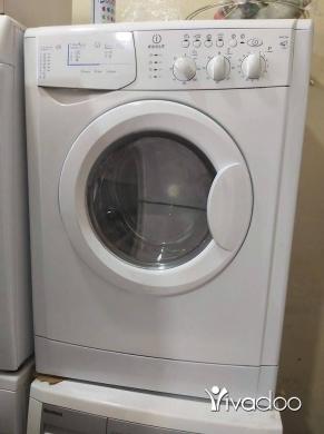 Washing Machines in Berj Hammoud - غسالة انديست ايطالية تنشيف كامل خارقة نضافة مكفول شهر غسيل وتنشيف