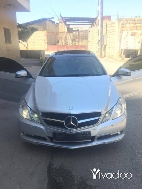 Mercedes-Benz in Port of Beirut - E 350 coupe